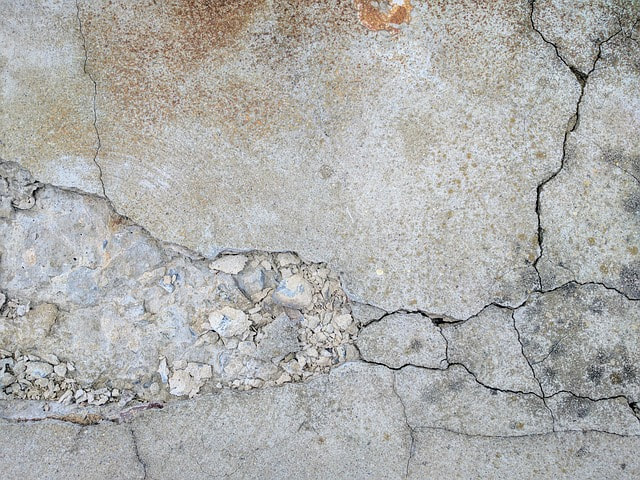 Cracked Concrete, Repair, Sioux Falls SD
